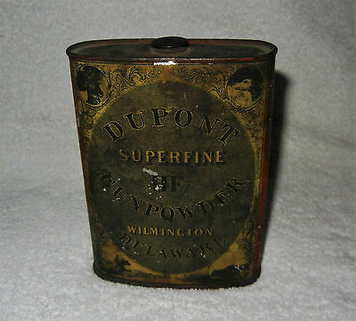 Vintage Dupont Superfine HF Gunpowder