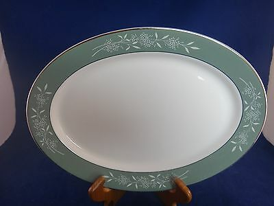 Syracuse China CANDLELIGHT Oval Serving Platter ~MINT~