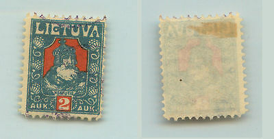 Lithuania, 1921, SC 106, used, horizontal wmk. f954