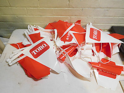 Very Cool Vintage Toro Banner Advertisement Store String Flags