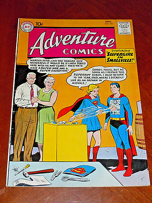 ADVENTURE COMICS #278 (1960) FINE+ (6.5) cond. HIGHER GRADE!! Supergirl
