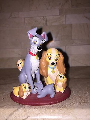 Hallmark Lady And The Tramp Family Portrait Ornament 1999