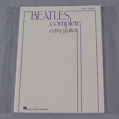 Beatles Complete Easy Guitar Songbook Piano Vocal Song Book Sheet Music