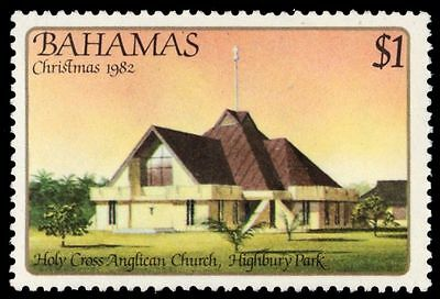"BAHAMAS 527 (SG640) - Christmas ""Holy Cross Anglican Church"" (pa84769)"