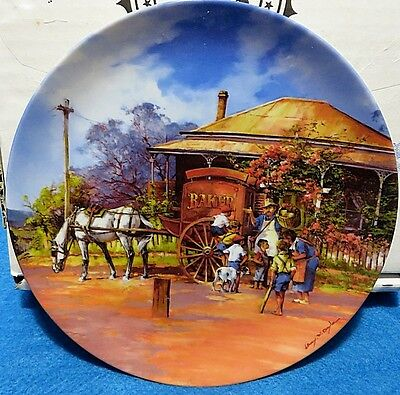 """""""BAKER"""" COLLECTOR PLATE Bygone Trades Bradford 1995 As New"""