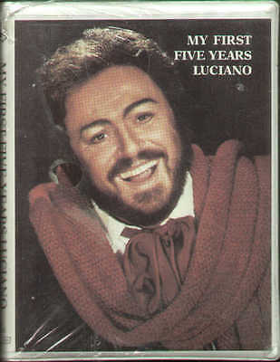 PAVAROTTI my first five years Luciano - 1963-67 - 2 MC box MIZAR sealed