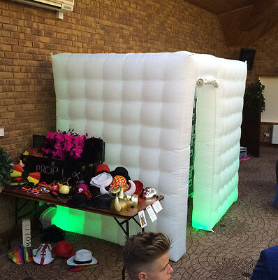 Photo Booth For Sale LED Inflatable including all hardware