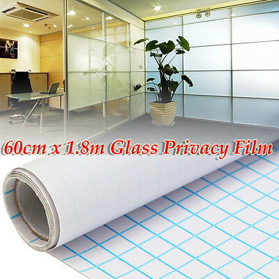 """24""""x6FT Home/Office Privacy Frosted Window Tint Glass Self Adhesive Tinted Films"""