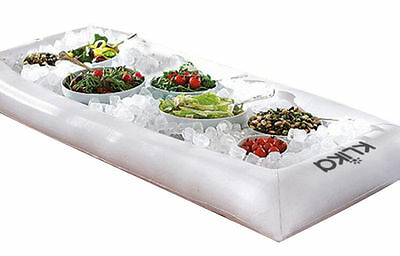 Floating Spa Bar Inflatable Tray Drink Snacks Food Cup Holder Pool Water Hot Tub
