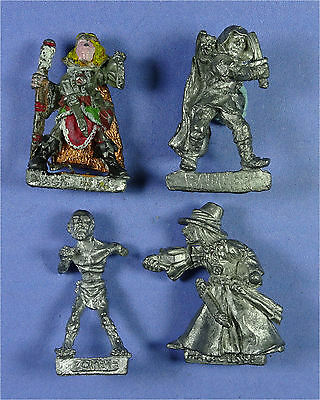 CITADEL - TSR - AD&D - 4 x Damaged Figures - 1980s Metal - Warhammer D&D Army