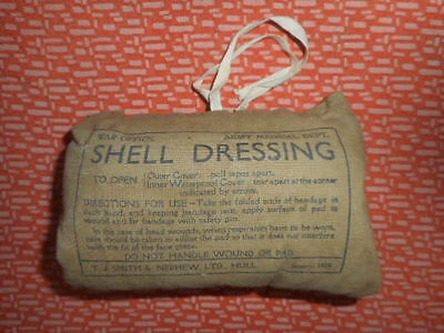 Great Britain --1939  Wwii -- Shell Dressing --  1939 Wwii  Militaria