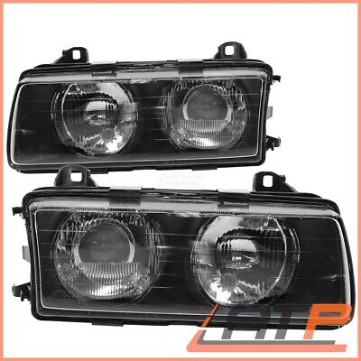 2X Headlamp Headlight H1/h1 Type Hella Left+Right Left Driver's Side Lhd 3199926