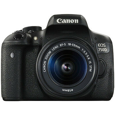 IPT - Canon EOS 750D + EF-S 18-55mm IS STM Europa 755863