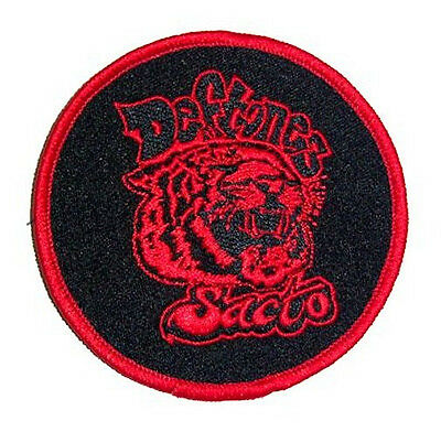 Deftones Sacto Tiger Round Embroidered Patch New Official