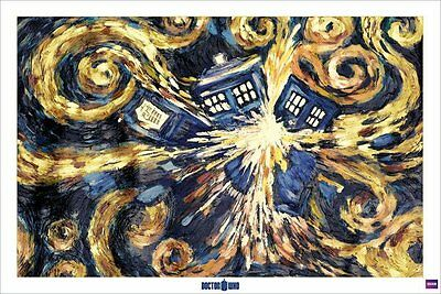 Doctor Who Poster Pack Exploding Tardis 61 x 91 cm (5) Pyramid International amp