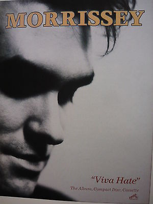Morrissey - Magazine Cutting (Full Page Advert) (Ref Sc)