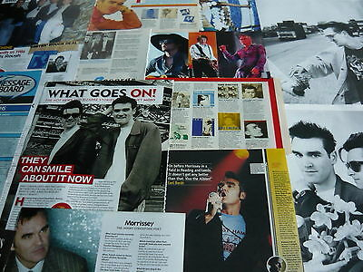 Morrissey/the Smiths - Magazine Cuttings Collection (Ref Xd)