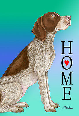 Garden Indoor/Outdoor Home (TP) Flag - German Shorthair Pointer 620491