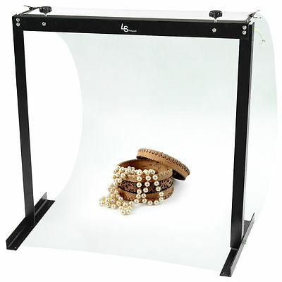 Lusana Portable Shooting Table Stand Product Digital Photo White Background