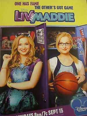 Liv and Maddie, Dove Cameron, Full Page Promotional Ad