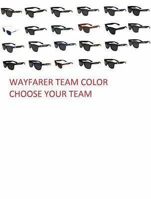 5ed4568b524f NFL Football Beachfarer Sunglasses RETRO Team Logo Pick your Team Sun  Glasses