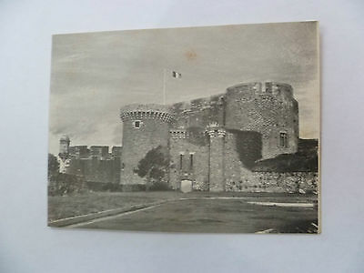 CARTE DE VOEUX MARINE NATIONALE marine BREST 1960s ORIGINAL COLLECTOR