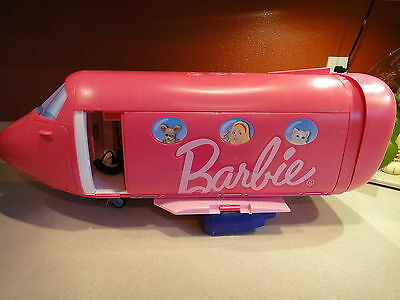 Barbie Glam Vacation Airplane For Parts Or Repair 2009 Mattel