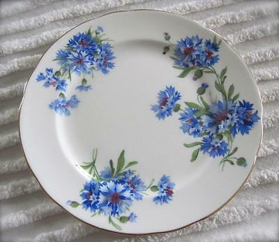 "Hammersley & Co. Blue Cornflower 8.25"" Plate Made in England"