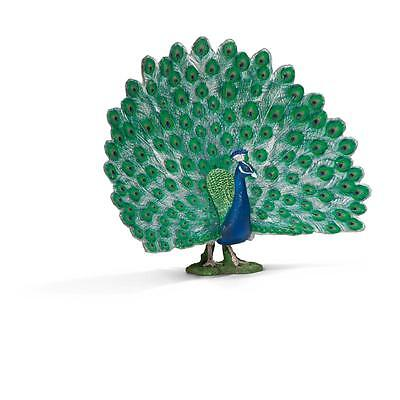 PEACOCK by Schleich; toy/bird/14673