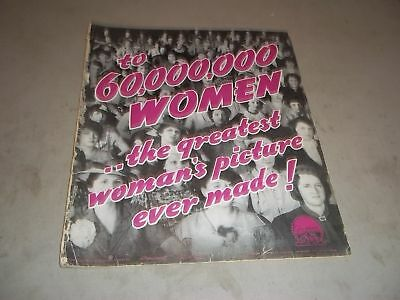 1936 Valiant Is The Word For Carrie Movie Press Book - Gladys George - P 55