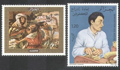 Algeria 1976 Blind/Art/Disabled/Medical 2v set (n39590)