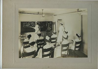 Antique Cabinet Photo Nursing School Photo Nurses Classroom Boston Mass