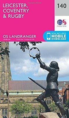 Leicester, Coventry & Rugby (OS Landranger Map) New Map Book Ordnance Survey