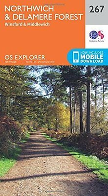 Northwich and Delamere Forest (OS Explorer Map) New Map Book Ordnance Survey