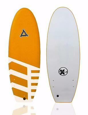 "Triple X 4'11"" Bullet Black Ball Beater Surfboard/Tribal"