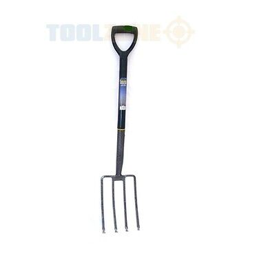 Good Quality Great Value Carbon Steel Garden Digging Fork by Toolzone