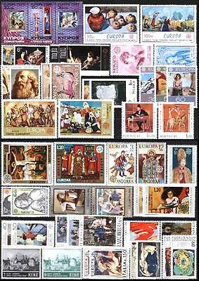 Cept Europa 1975 ** annata completa MNH beautiful and complete collection