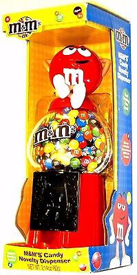 """New M&M'S 2009 Red Character Collectible 12"""" Candy Dispenser & Coin Bank NIB"""