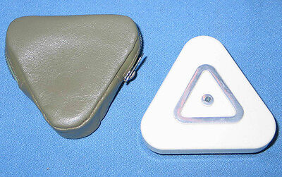 Extraordinary Engineering Measuring Device H.C. RUFF PONDIX Triangle in Case