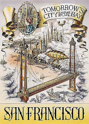 Disneyland Paris Conference on the Future Attraction Poster in 5 Sizes