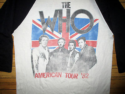 "The Who 1982 American Tour ""its Hard"" Vintage Shirt"