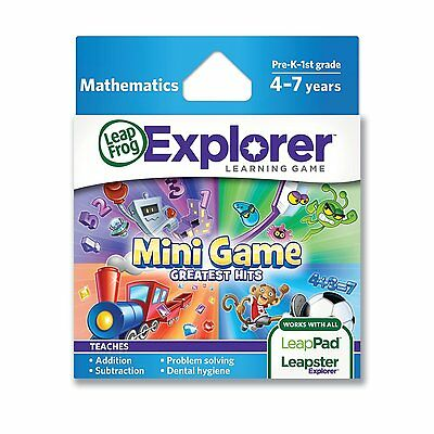 Leap Frog Explorer Mini Game Greatest Hits New Addition 4 Leappad & Leapster