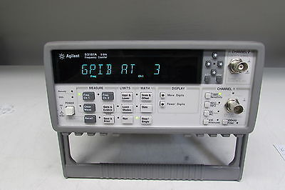 Agilent 53181A RF Frequency Counter w/opt 030 (3Ghz)