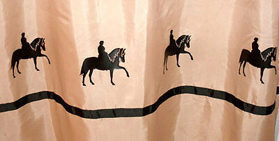 Peruvian Paso Horse Shower Curtain -  Color choices for you!