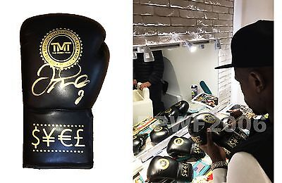 Floyd Mayweather Jr Hand Signed Autographed Boxing Glove With Exact Pic Proof 1
