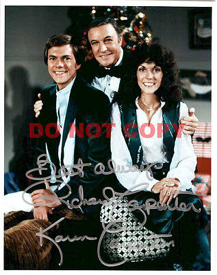 REPRINT RP 8x10 Signed Autographed Photo: Richard and Karen Carpenter