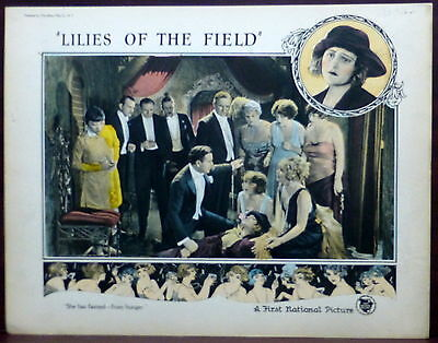 Anna May Wong 1924 ORIGINAL Silent Film Lobby Card Lilies of the Field