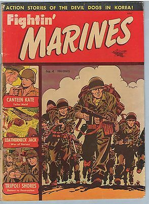 Fightin' Marines 4 Feb 1952 GD-VG (3.0)