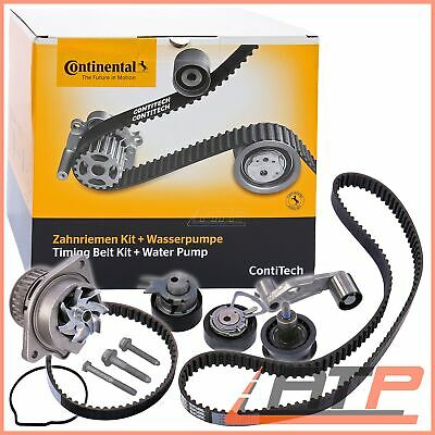 Contitech Timing Cam Belt Kit + Water Pump Seat Cordoba 6K 6L 00-09 	1.4 16V