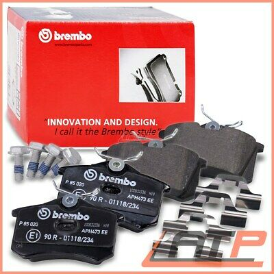 Brembo Brake Pads Rear Citroen C4 Saloon 06-11 Coupe 04-11 Cactus 14- Mk 1 2 04-